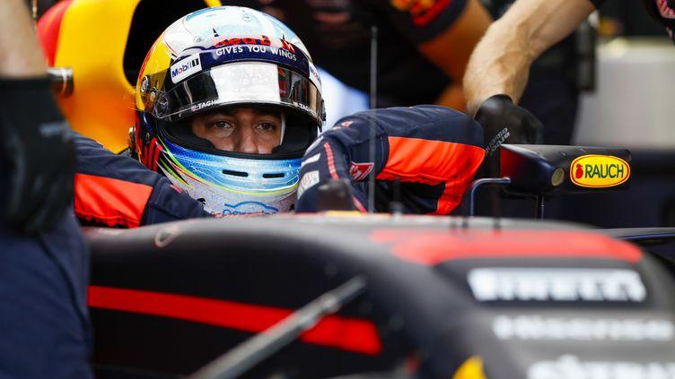 Le pilote australien Daniel Ricciardo (Red Bull). (FLORENT GOODEN / DPPI MEDIA)