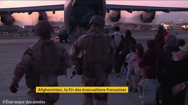 evacuations fin afghan