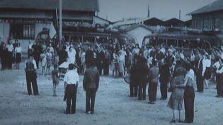 Des clichés exceptionnels ont été retrouvés du camp de Vénissieux, près de Lyon (Rhône). Ils témoignent des grandes rafles menées dans la région de Lyon à l'été 1942. (FRANCE 2)