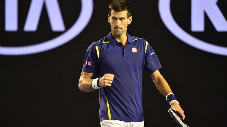 La rage de vaincre de Novak Djokovic (PAUL CROCK / AFP)