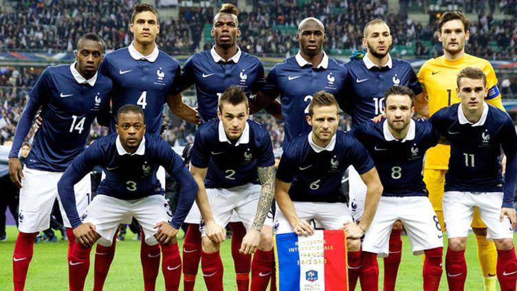 (L'équipe de France de Didier Deschamps © Maxppp)