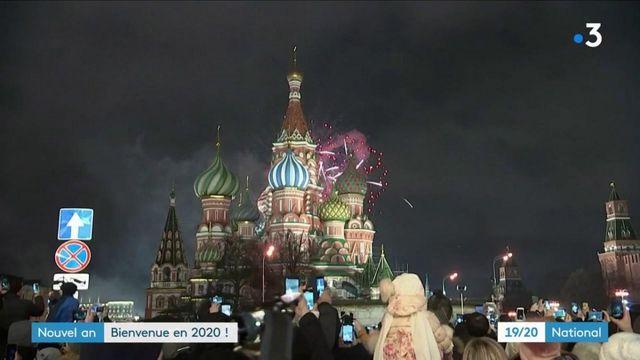 Nouvel An : l'arrivée de 2020 célébrée dans le monde entier