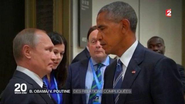 Obama/Poutine : des relations compliquées