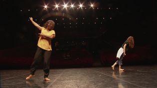 La compagnie Chatha en répétition à la Maison de la danse de Lyon (France 3 Rhône-Alpes-Benjamin Bonte)