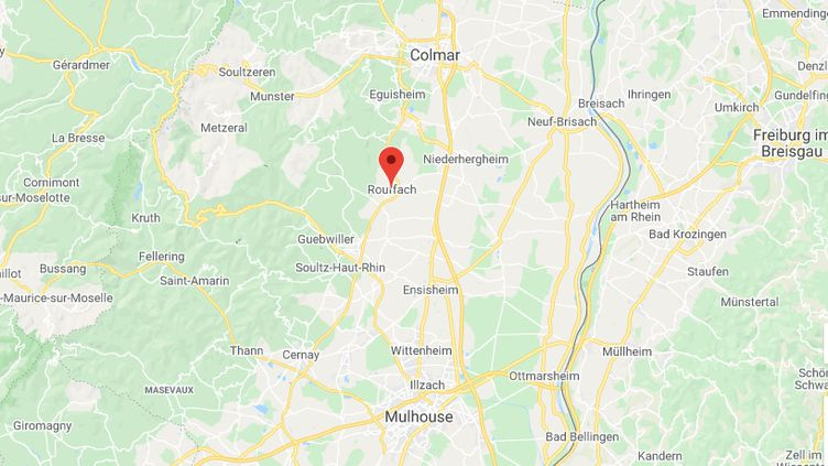 Rouffach dans le Haut-Rhin. (GOOGLE MAPS)
