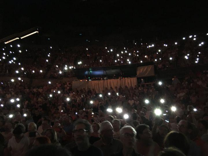Le public du théâtre antique de Vienne, le 21 juillet 2019 (Jean-François Convert)