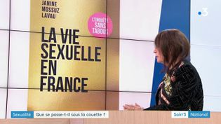 Janine Mossuz-Lavau et son livre (France 3)
