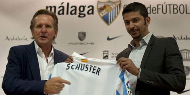 L'entraîneur de Malaga, Bernd Schuster