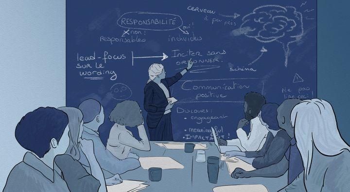 """""""Le sceau de la science qui entoure l'économie comportementale valide à leurs yeux la technique : ça fait sérieux, ce qui leur plait beaucoup !"""" (NICOLAS DEWIT / RADIO FRANCE)"""