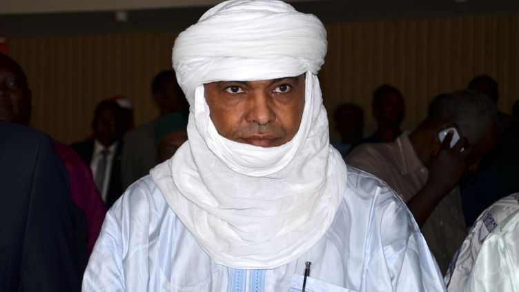 Mohamed Akotey, ancien ministre du Niger, le 26 mai 2014. (BOUREIMA HAMA / AFP)