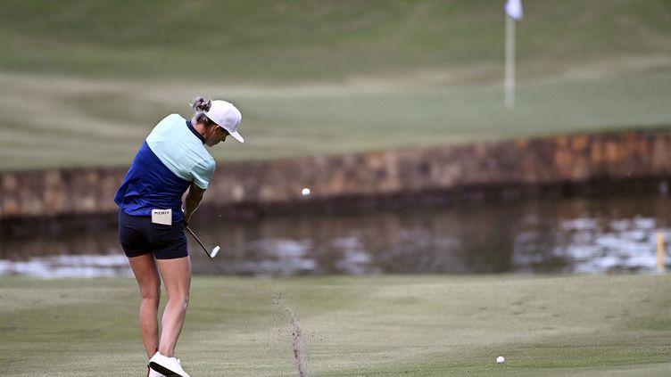 L'Anglaise Mel Reid est une des seules joueuses à avoir refusé de participer aux tournois saoudiens. (MIKE COMER / GETTY IMAGES NORTH AMERICA)