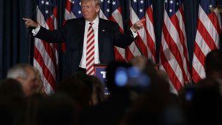 Donald Trump à Philadelphie (Etats-Unis), le 7 septembre 2016. (EVAN VUCCI / AP / SIPA)