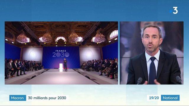 Politique : un plan à 30 milliards d'euros pour la France de 2030
