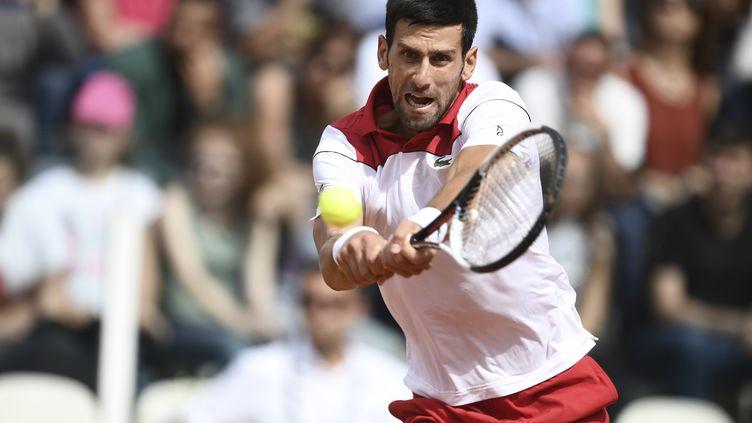 Novak Djokovic poursuit sa route à Rome (FILIPPO MONTEFORTE / AFP)