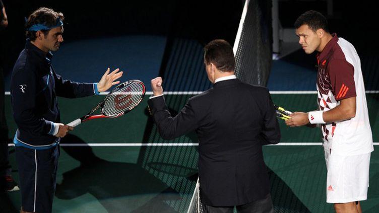 Federer face à Tsonga, l'affiche de la finale en 2011