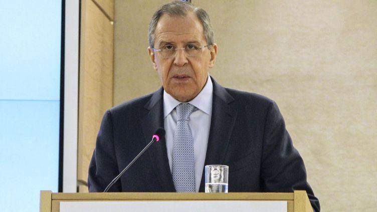Sergueï  Lavrov.  (FATIH EREL / ANADOLU AGENCY)