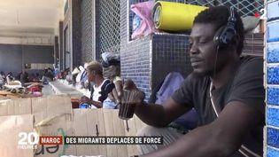 Des migrants sont déportés de force au Maroc. (FRANCE 2)