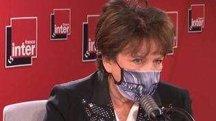 Roselyne Bachelot, le 17 décembre 2020. (FRANCE INTER / RADIO FRANCE)
