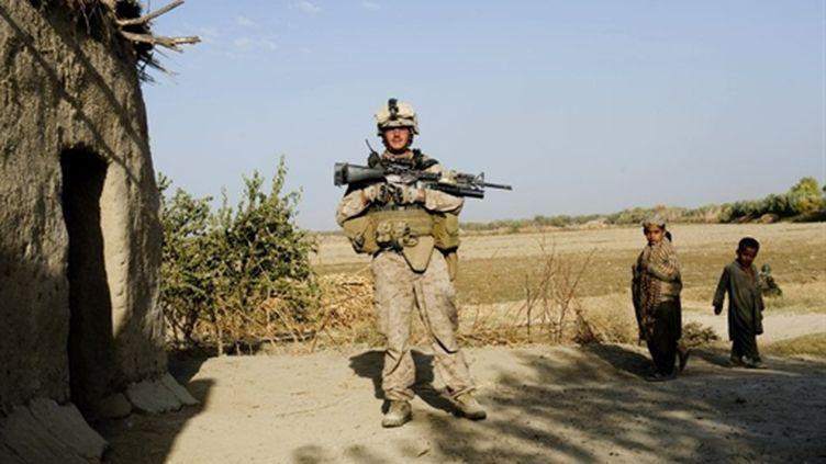 Soldat américain en Afghanistan (AFP/MANPREET ROMANA)