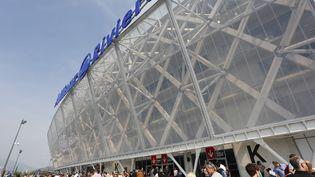 Le grand stade de Nice (Alpes-Maritimes), aussi appelé Allianz Riviera, lors de son inauguration, le 22 septembre 2013. (PHILIPPE LAURENSON / BLUEPIX / AFP)