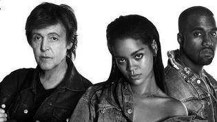 """Paul McCartney, Rihanna et Kanye West réunis pour """"FourFiveSeconds"""".  (Twitter)"""
