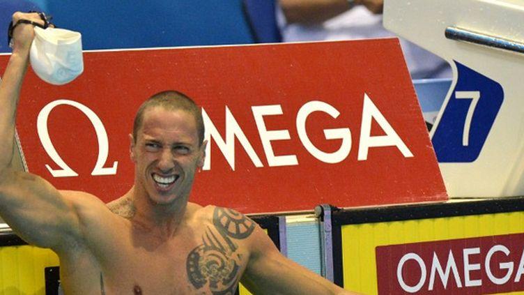 Frédéric Bousquet en or sur 50 m nage libre