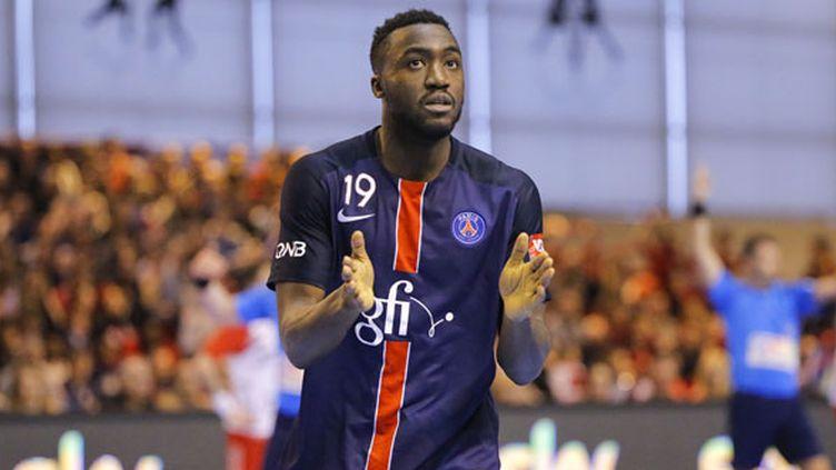 Le joueur du PSG, Luc Abalo