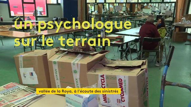 Soutien psychologique aux sinistrés de la vallée de la Roya