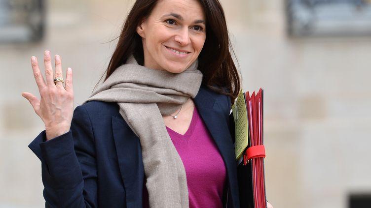 Aurélie Filippetti, le 10 avril 2013. (MIGUEL MEDINA / AFP)