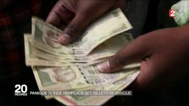 Inde : le chaos de la monnaie