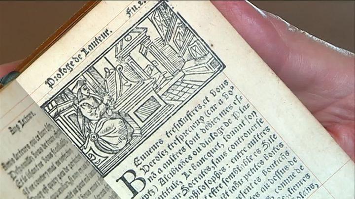 Une édition agrémentée de 36 vignettes gravées sur bois (France 3 Centre-Val-de-Loire)