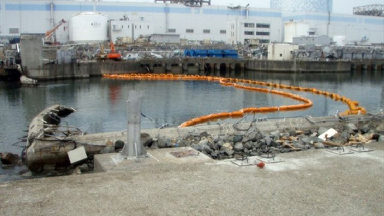 Fukushima, le 10 avril 2011. (AFP/HO/TEPCO)