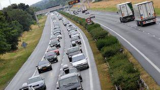 L'autoroute A10 photographiée le 2 août 2008. (MIGUEL MEDINA / AFP)