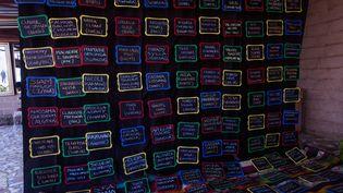 "Le mur des cinéastes africaines (campagne ""Nous sommes Yennenga"") (INA THIAM)"