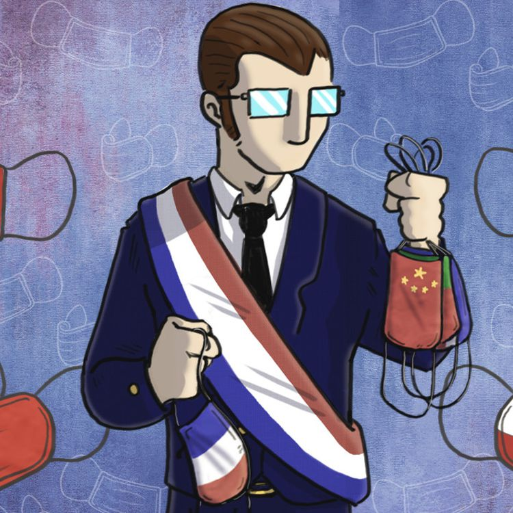 Alors que l'exécutif incite à acheter des masques français, certaines collectivités passent des commandes à l'étranger. (PIERRE-ALBERT JOSSERAND / FRANCEINFO)