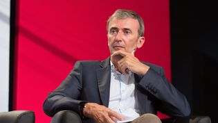 Le directeur général délégué de l'institut de sondage Ipsos, Brice Teinturier, lors de l'université d'été du PS à La Rochelle, le 29 août 2015. (MAXPPP)