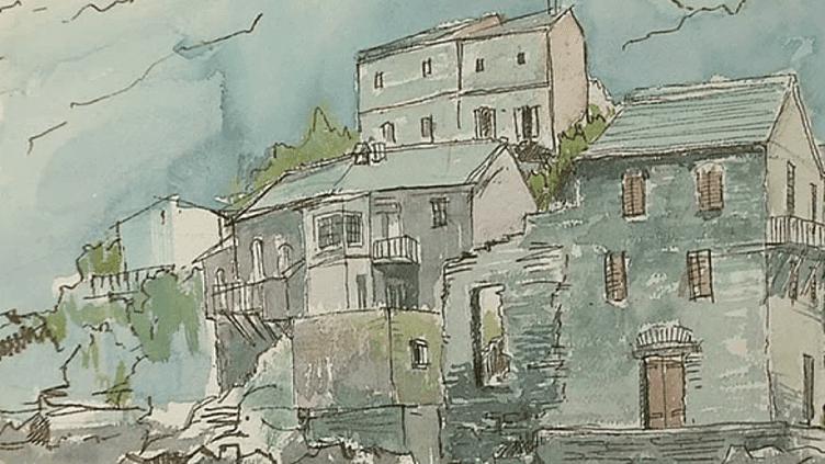 "Soshin Okumura, artiste-peintre appartenant au collectif ""Pont des Arts Japan""  (France 3/ Culturebox)"