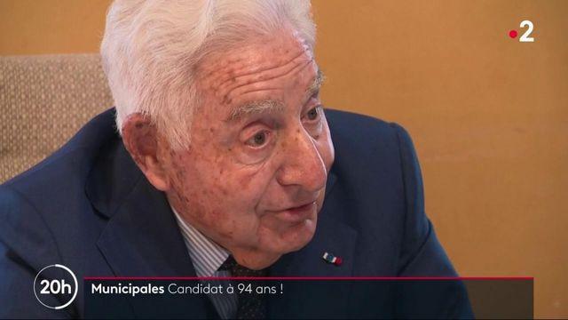 Municipales : il se représente à 94 ans