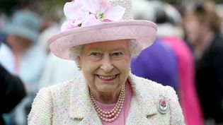 La reine Elizabeth II, le 4 juillet 2017 à Edimbourg (Ecosse). (JANE BARLOW / AFP)