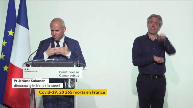 VIDEO. Jérôme Salomon, directeur général de la santé
