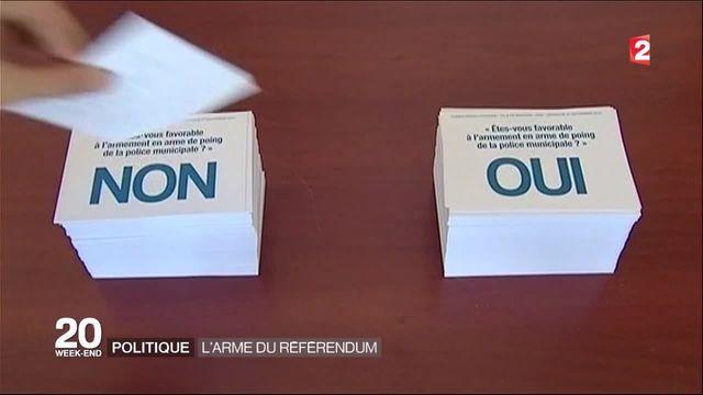 Politique : l'arme du référendum