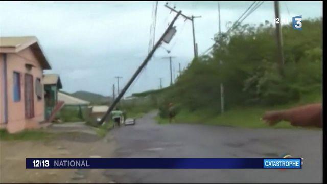 Ouragan Irma : des destructions sans précédent sur l'île de Barbuda