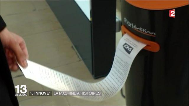 J'innove :  le distributeur d'histoires courtes à lire dans les transports