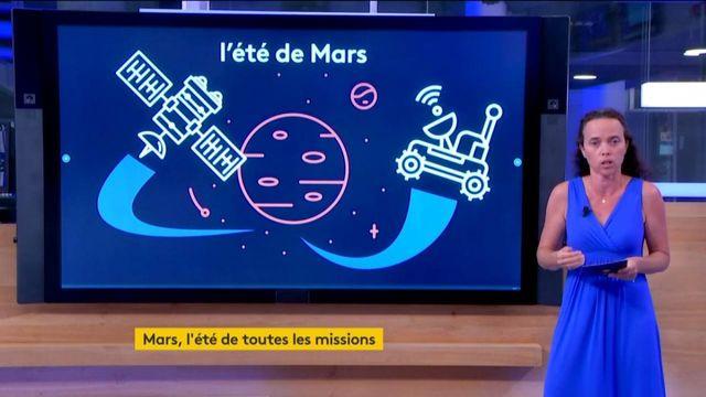 Espace : trois missions sur Mars en quelques semaines