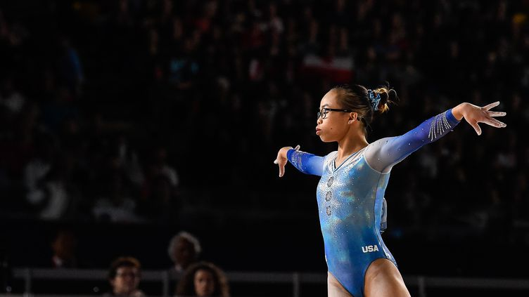 La gymnaste américaine Morgan Hurd (MINAS PANAGIOTAKIS / GETTY IMAGES NORTH AMERICA)