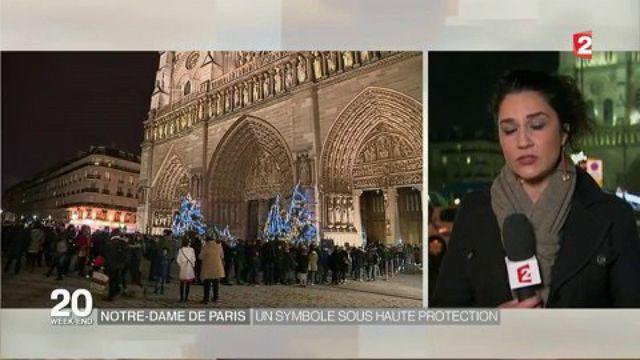 Notre-Dame : une messe de Noël sous grande surveillance à Paris