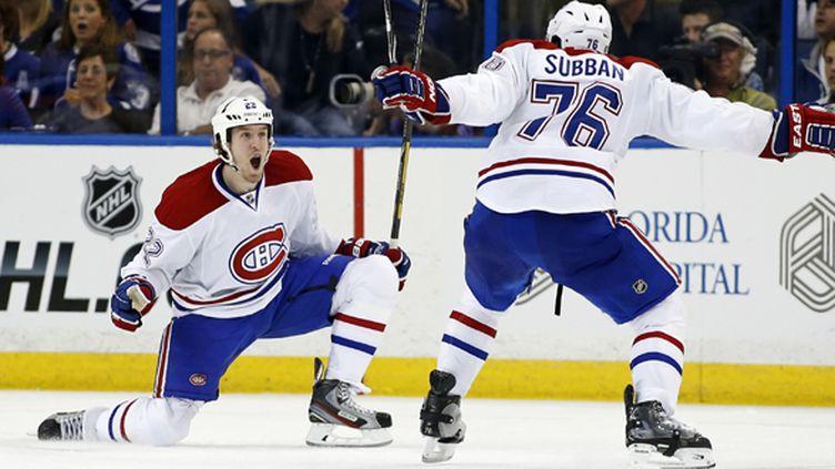 Le Canadien de Montréal a bien démarré en playoffs de la NHL (MIKE CARLSON / GETTY IMAGES NORTH AMERICA)