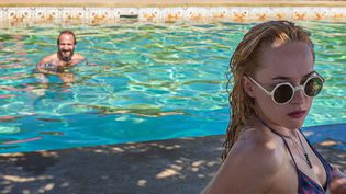 """A Bigger Splash"" avec Dakota Johnson et  Ralph Fiennes  (Copyright StudioCanal)"