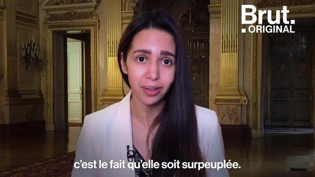 Brut : Naïma Moutchou, député LREM, dénonce les conditions de vie en prison