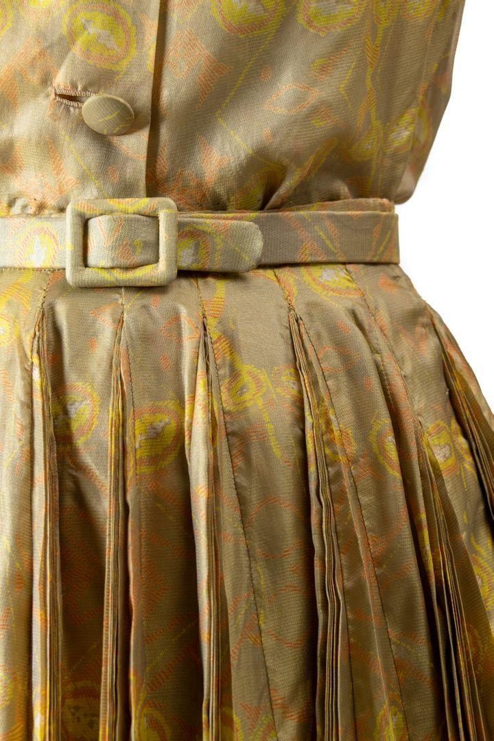 Ensemble Papillon Jaune, Christian Dior, collection Haute Couture Printemps-Été 1951 (Benoit Croisy, coll. ville de Granville)